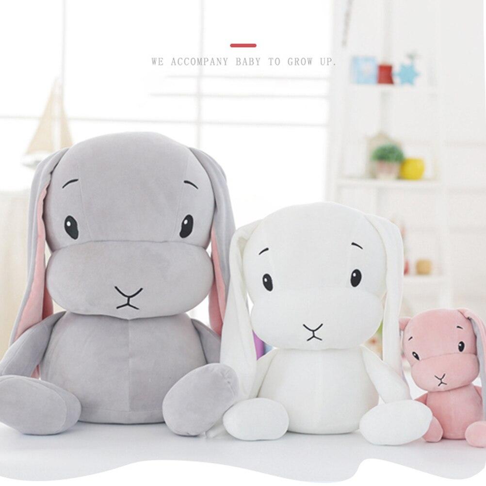25cm 50cm Cute Rabbit Plush Doll Toys Baby Bunny Stuffed Plush Animal Toys Doll Kids Accompany Seep Toys for children Gifts25cm 50cm Cute Rabbit Plush Doll Toys Baby Bunny Stuffed Plush Animal Toys Doll Kids Accompany Seep Toys for children Gifts