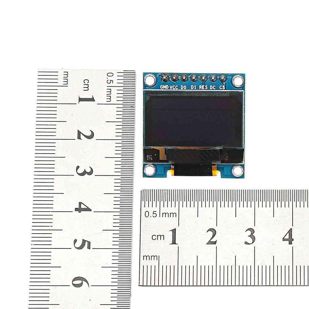 Nouveau 7Pin 0.96 pouces OLED affichage 12864 SSD1306 SPI IIC série LCD Module d'écran pour Arduino