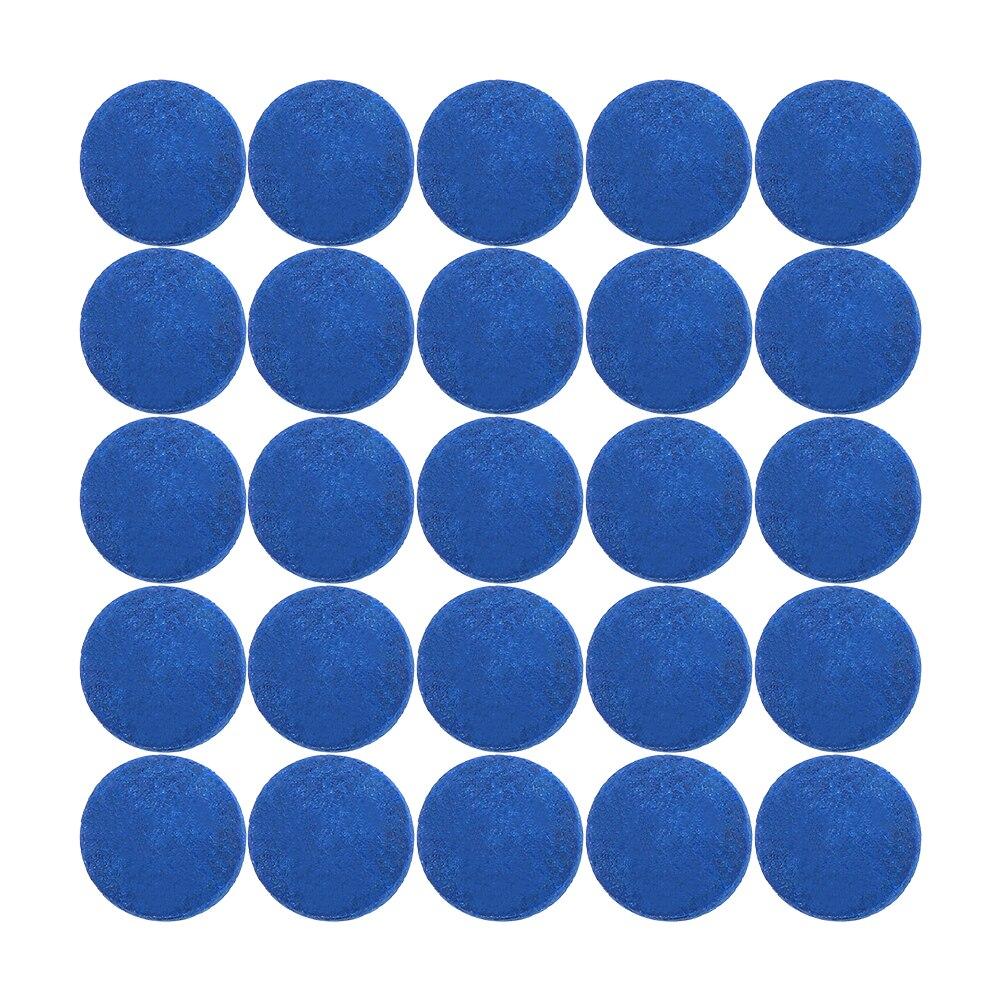 50PCS Snooker Cue Tips Pool Cue Tips Billiard Cue Head Billiard Accessories 9MM / 10MM / 12MM / 13MM