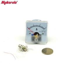 DC 50(3A) Analog Ammeter Panel Current Amper Meter Pointer Diagnostic-tool Amperimetro Ampermeter Tester стоимость