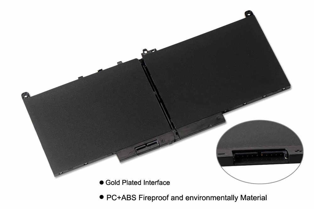 KingSener Новый J60J5 устройство замено ноутбука Батарея для Dell Latitude E7270 E7470 J60J5 R1V85 MC34Y 242WD 7,6 V 55Wh