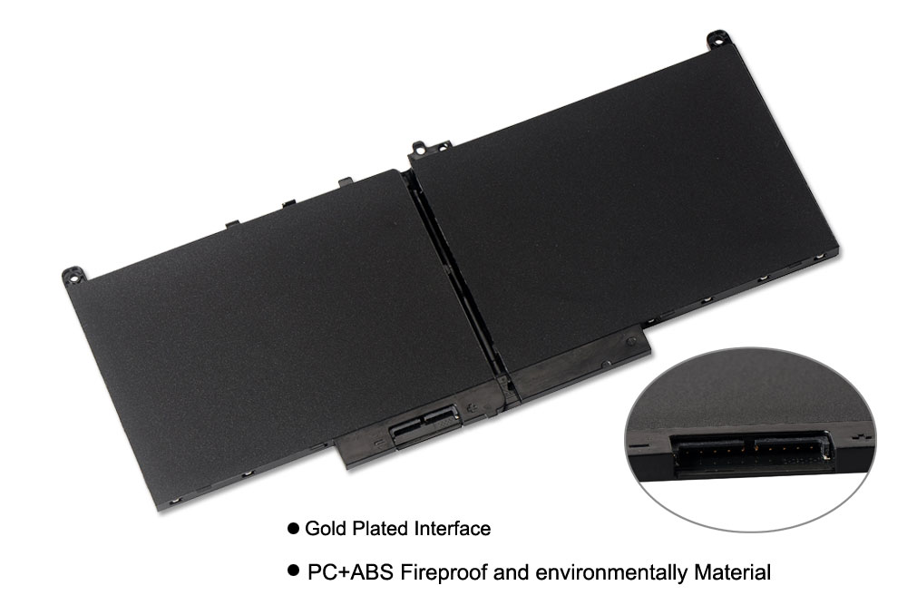 Image 3 - KingSener New J60J5 Replacement Laptop Battery For Dell Latitude E7270 E7470 J60J5 R1V85 MC34Y 242WD 7.6V 55Wh-in Laptop Batteries from Computer & Office