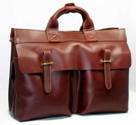 Роскошный мужской кожаный портфель для ноутбука из натуральной кожи деловая