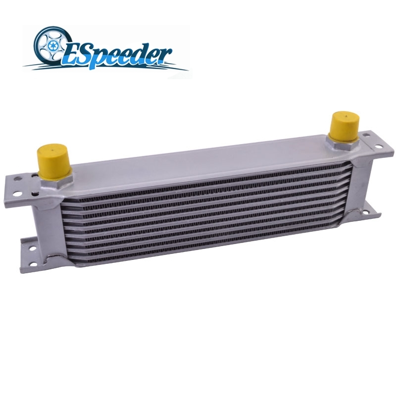 ESPEEDER 10 ROW AN10 Universal Engine Transmission Aluminum Oil Cooler Radiating System High Quality Car Modified Parts