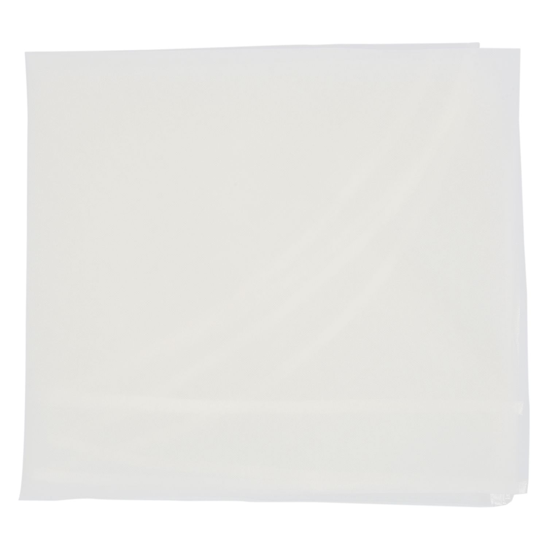 1 Beige Nylon Fijn Gewikkeld Bruid Veil Maat: 110*150 Cm En Om Een Lang Leven Te Hebben.