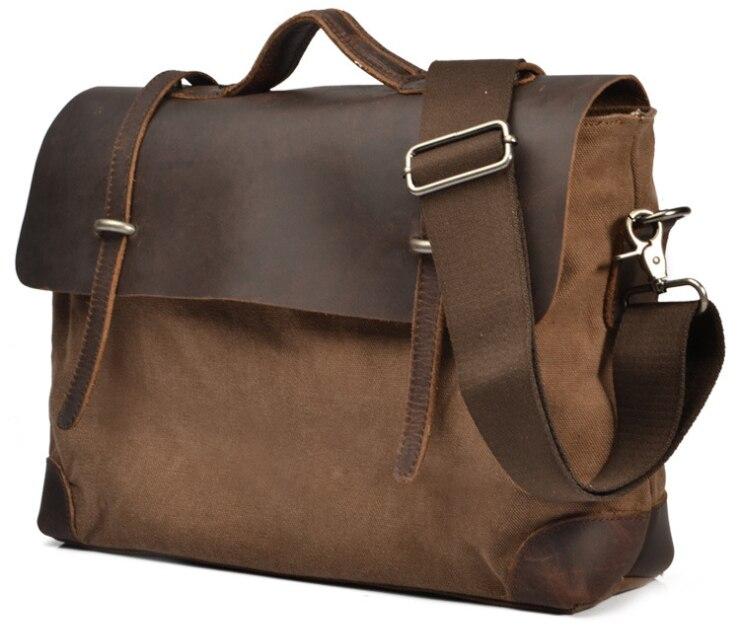 2015 Fashion Leather Briefcase Men Genuine Leather Messenger Bag Shoulder bag for men Crossbody Bag Tote
