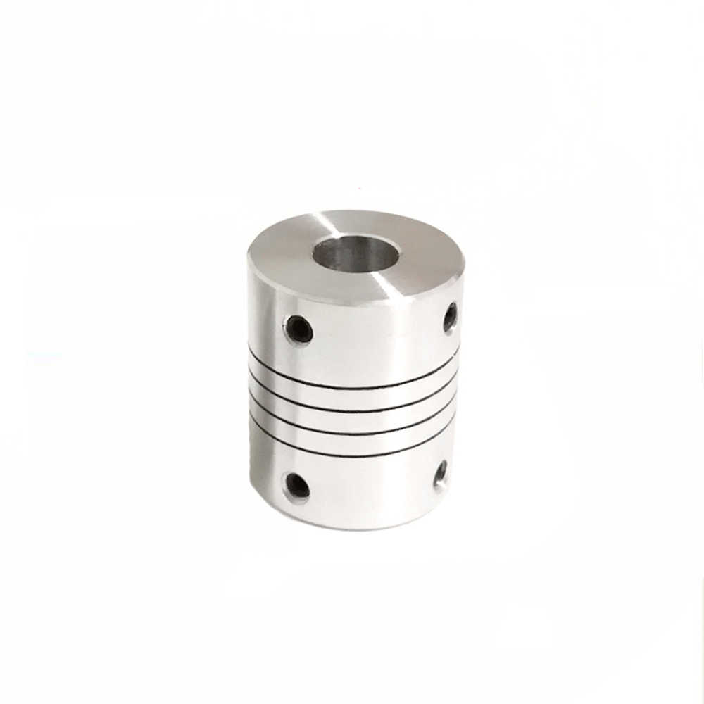 Flexible Shaft Coupling CNC Stepper Motor Coupler Connector D25L30 5mm 6mm 6.35mm 7mm 8mm 9.5mm 10mm 12mm image