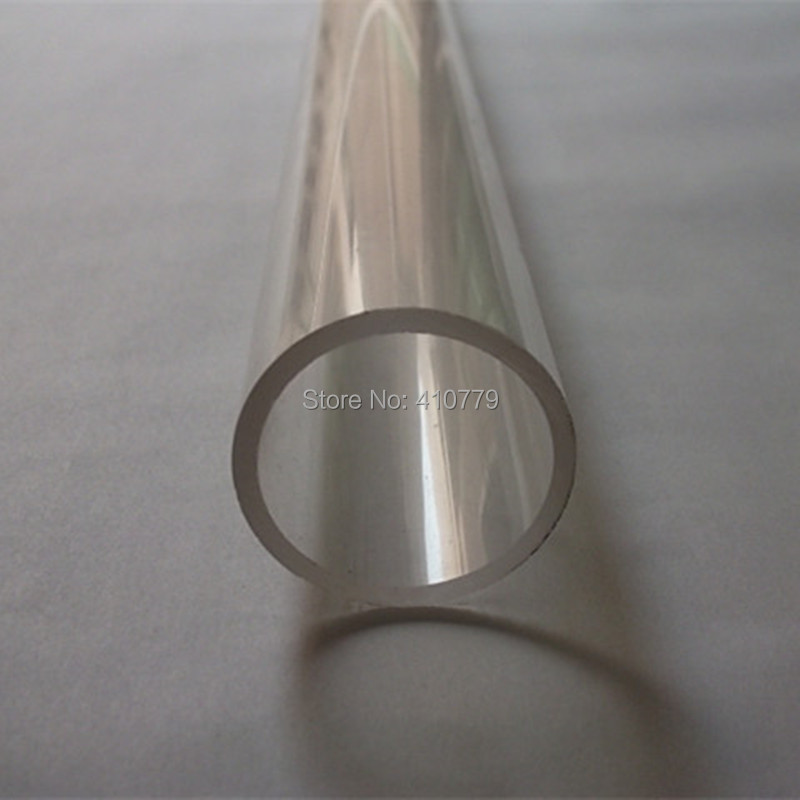 High Quanlity Acrylic Tube Clear OD40x3x1000mm EXTRUDED PMMA Water Pipe Home decor LED LAMP Have many