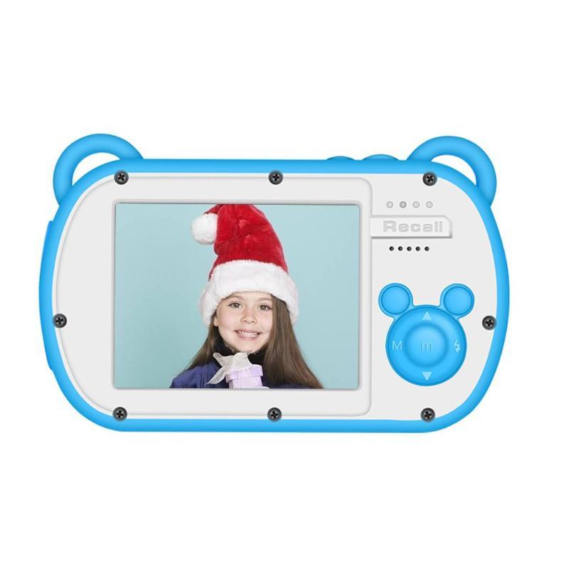 JOCESTYLE Mini Chidren Caméra 8X Zoom Numérique 2.7 pouces Écran 18MP DSLR Caméra enregistreur vidéo Caméscope Jouets pour Enfants Cadeaux
