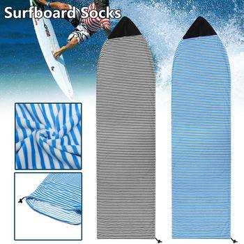 Surfboard Cover Quick-Dry Snowboard Cove Socks Surf Board Protective Storage Bag Case 6.3''/6.6''/7'' Water Sports Accessories