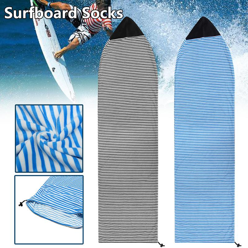 Surfboard Cover Quick Dry Snowboard Cove Socks Surf Board Protective Storage Bag Case 6.3''/6.6''/7'' Water Sports Accessories-in Surfing from Sports & Entertainment