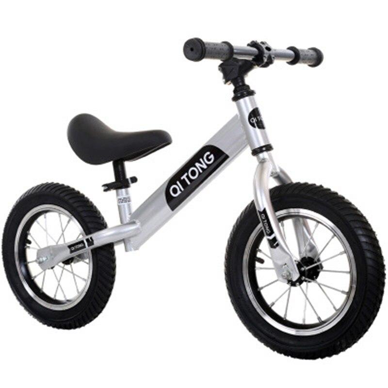 Bébé VTT enfants Balance voiture sans pédale Portable bébé Scooter 2-6 ans vitesse unisexe sécurité enfants vélo Ride jouets