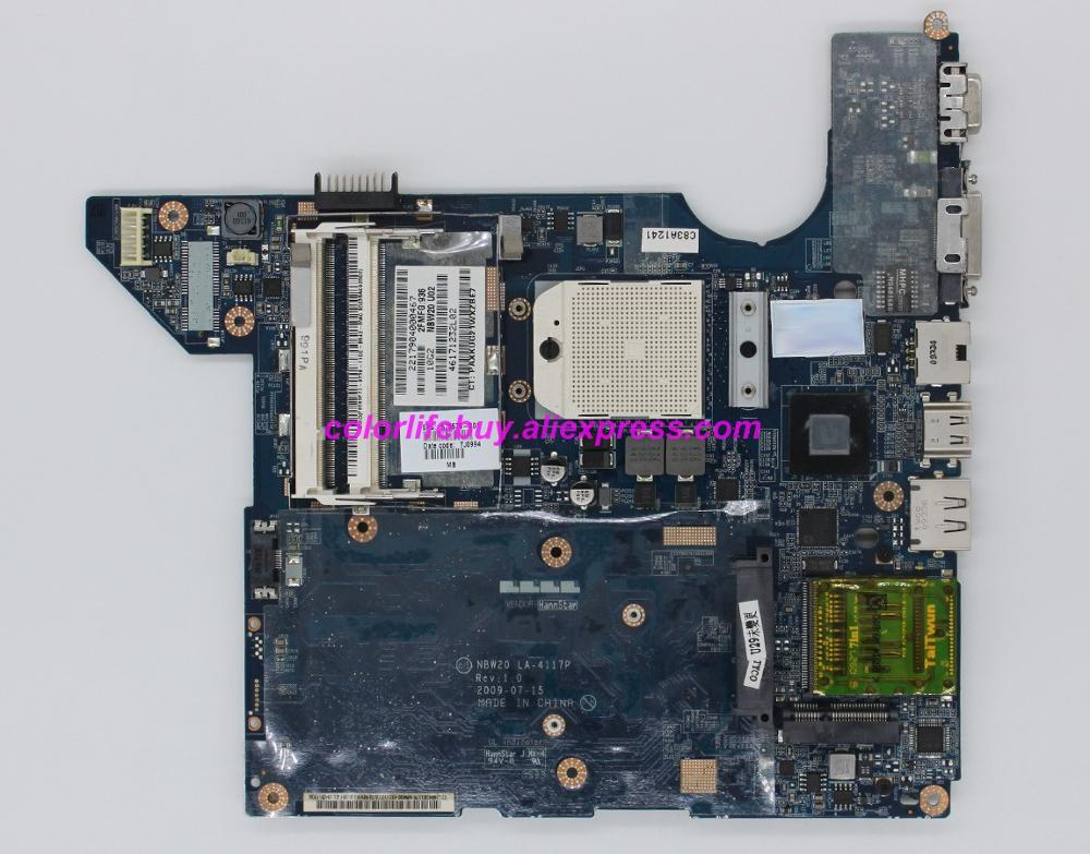 Genuine 575575 001 LA 4117P UMA SB710 Laptop Motherboard Mainboard for HP DV4 2000 Series NoteBook PC-in Laptop Motherboard from Computer & Office