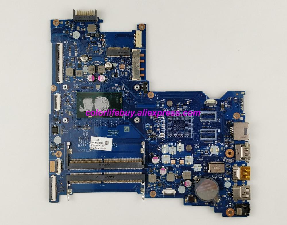 Genuine 854937 601 854937 001 UMA w i5 6200U CPU BDL50 LA D704P Laptop Motherboard for HP 15 AY Series 15T AY000 NoteBook PC-in Laptop Motherboard from Computer & Office