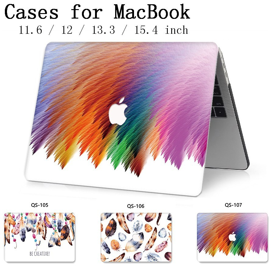 For Notebook MacBook New Laptop Case Sleeve For MacBook Air Pro Retina 11 12 13.3 15.4 Inch With Screen Protector Keyboard Cove-in Laptop Bags & Cases from Computer & Office