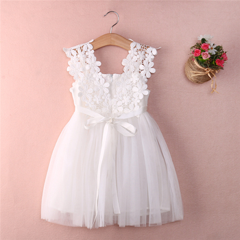 New Toddler Baby Girls Clothes Summer Princess Lace Flower Tulle Tutu Dresses Bebe Girl Sleeveless Ball Gown Formal Party Dress baby girl dress pink flower sleeveless ball gown princess wedding dresses girls baptism 1 year vestido infantil 6m 4y
