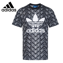 цены Adidas Original New Arrival 2019 Originals AOP TEE Men Skateboarding T-shirts Short Sleeve Sportswear #BS4965