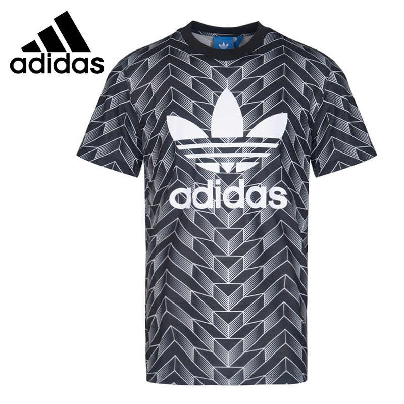 b029fd7425a705 Adidas Original New Arrival 2019 Originals AOP TEE Men Skateboarding T-shirts  Short Sleeve Sportswear