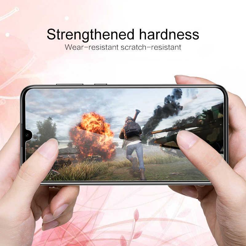 Dustproof אנטי-טביעת אצבע מזג זכוכית ברור פרימיום HD סרט לxiaomi Redmi Note7 נייד טלפון אבזרים