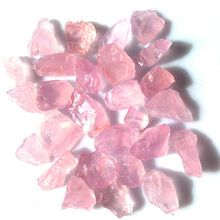 500g Wholesale Natural Powder Crystal Original Stone Small Single Engraving Material Feng Shui Decorative