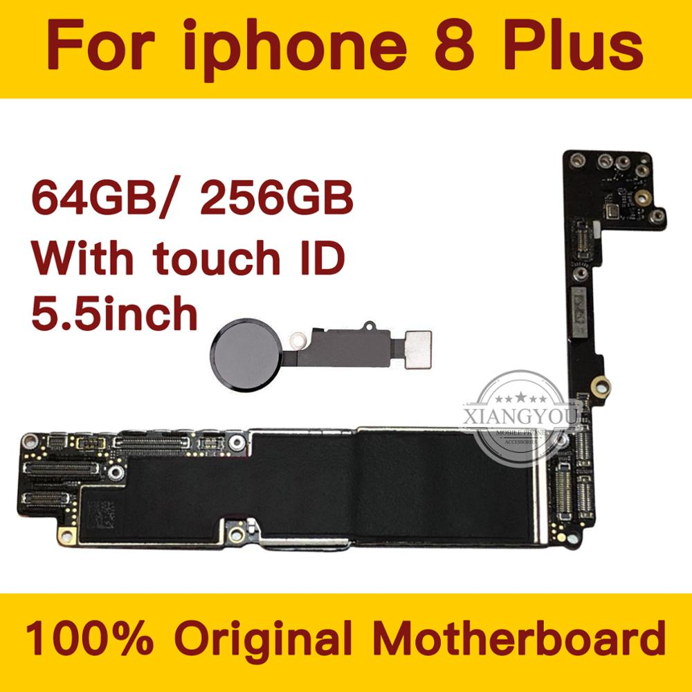 For <font><b>iPhone</b></font> <font><b>8</b></font> Plus 64GB/256GB <font><b>Motherboard</b></font> <font><b>With</b></font> Fingerprint IOS System,For <font><b>iPhone</b></font> <font><b>8</b></font> Plus Logic Board Mainboard <font><b>With</b></font> Chips image