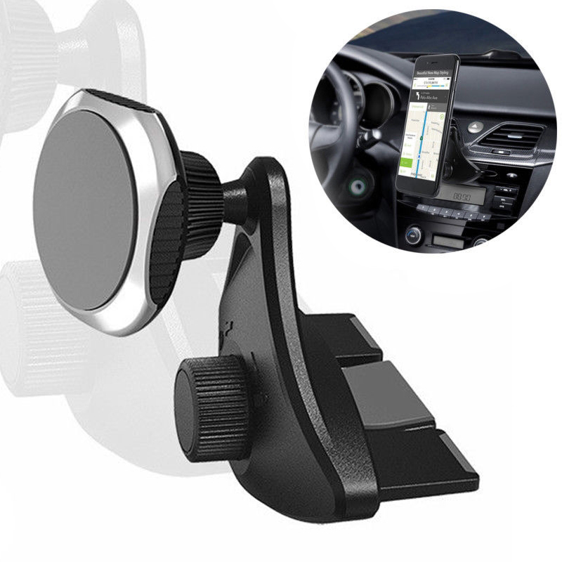 360 Degree Car CD Slot Mount Strong Magnetic ABS High Quality Holder Stand For Huawei Honor 7 8 10 Mobile Cell Phone Accessories