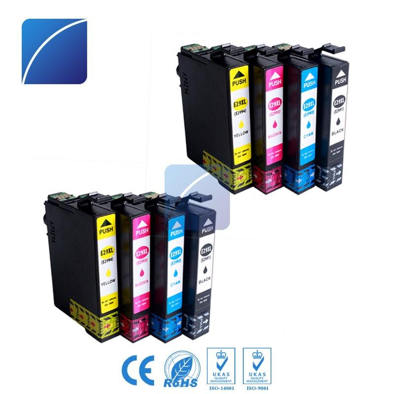 Zhuhaizh Tech eight Pcs 29Xl T2991 Ink Cartridge Suitable For Epson Xp-342 Xp-235 Xp-332 Xp-335 Xp-432 Xp-435 Printer