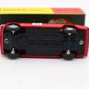 Image 4 - 1:43 Atlas Dinky oyuncaklar 1401 ALFA ROMEO 1600 TI ralli #8 Diecast modelleri sınırlı sayıda koleksiyonu