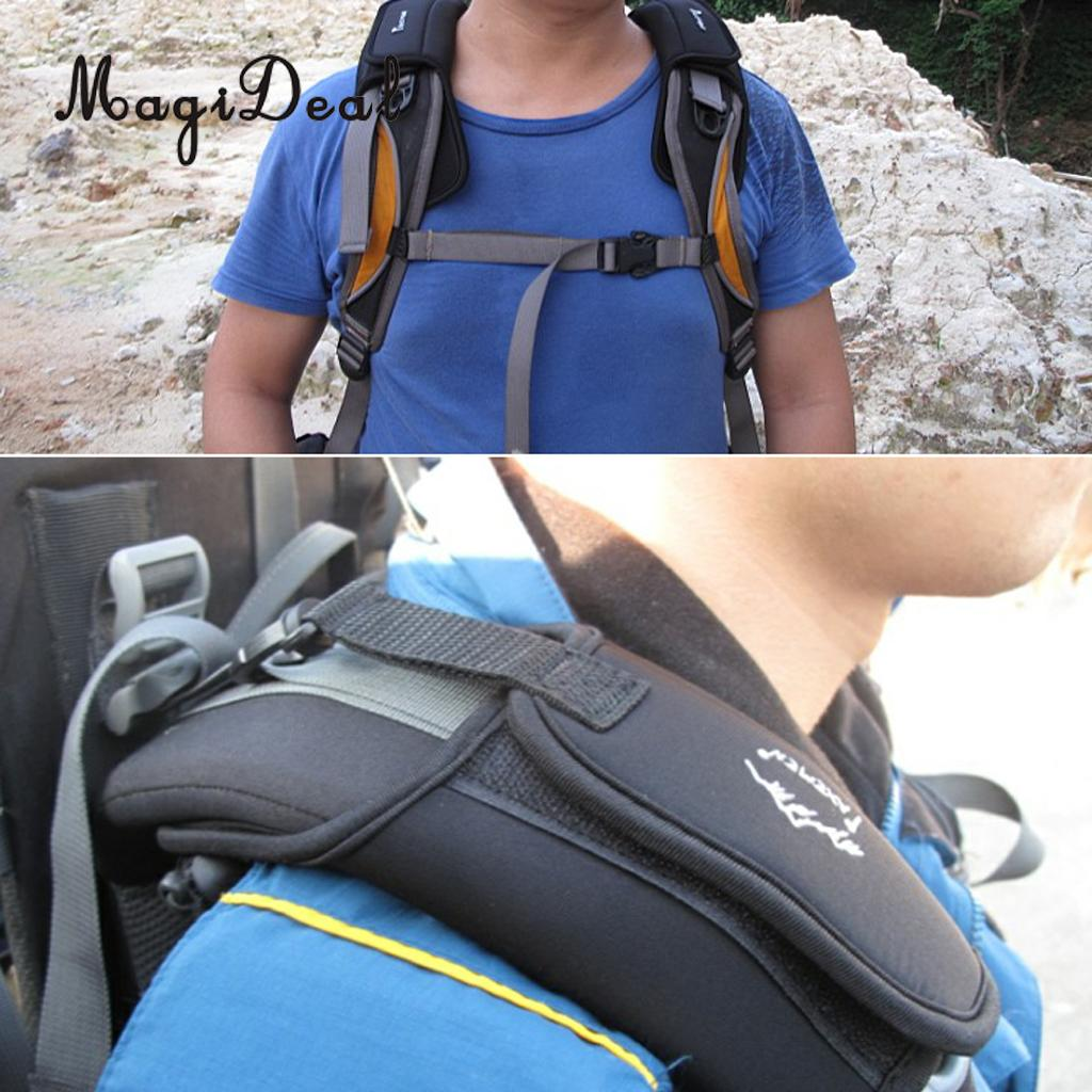 MagiDeal 1Pair Outdoor Travel Camping Hiking Damping Shoulder Strap Belt Cushion Pad For Kayak Canoe Boat Rafting Surfing Access