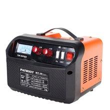 Устройство зарядное PATRIOT BCT- 50 Start (Ток зарядки 50А, 2 ступени зарядки 12-24 В, амперметр, индикатор зарядки, предохранитель 100 А)