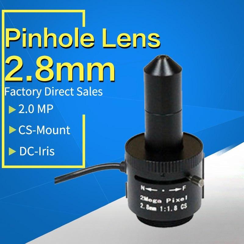 Objectif sténopé 2.8mm, 1/2. 5