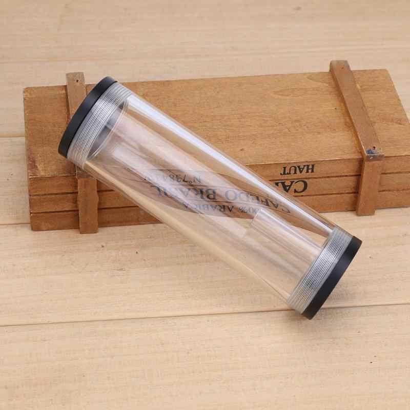 160X50 ملليمتر الاكريليك خزان المياه G1/4 الموضوع خزان صهريج اسطوانة مع L شكل مشبك معدني مسامير المكسرات ل PC تبريد المياه
