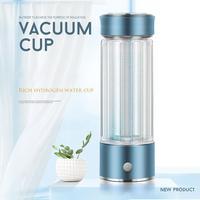 Портативный водорода богатые воды чайник ионизатор корпус генератора здоровье и гигиена Вакуумная чашка с USB кабель кухня хранения чай инс