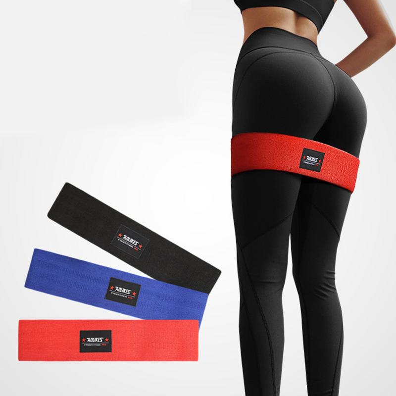 Non Slip Workout Bands: Resistance Hip Bands Exercise Bands For Booty Thigh Glutes