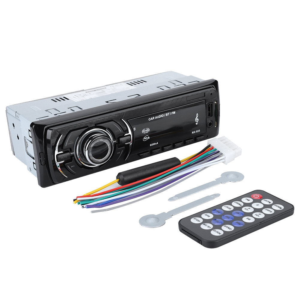 Hifi-geräte Unterhaltungselektronik Auto Digital Fm Radio Mp3 Player 4*60 W Power Stereo 87,5 Mhz-108,0 Mhz Radio Empfänger Mit Fernbedienung Unterstützung Sd-karte Moderater Preis