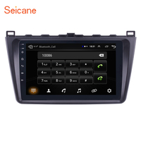 Seicane 9 Inch 2DIN WIFI Bluetooth WIFI GPS Navigation Car Radio Android 8.1 Multimedia Player For 2008 2015 Mazda 6 Rui wing