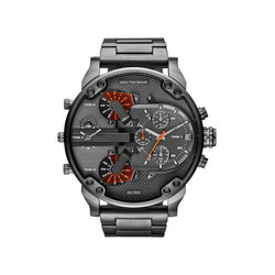 d4d19d175f7 New Brand Luxury Large Dial Men s Military Leather Stainless Steel Casual  Sports Business Metal Watch Men