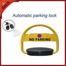 Bloqueo automático de barrera de espacio de estacionamiento de coches 2 controles remotos sin aparcamiento coches aparcamiento post bolardo
