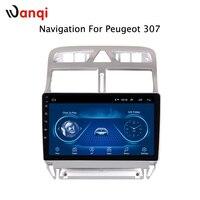 Android 8,1 автомобильный DVD видео плеер gps навигация Мультимедиа для peugeot 307 Радио 2004 2013