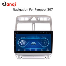 Android 8,1 reproductor de vídeo DVD para coche navegación GPS Multimedia para peugeot 307 Radio 2004-2013(China)