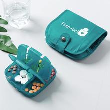 Большая вместительная переносная полупрозрачная коробка для хранения лекарств, дорожная сумка для лекарств, аптечка для экстренной помощи, Прямая поставка