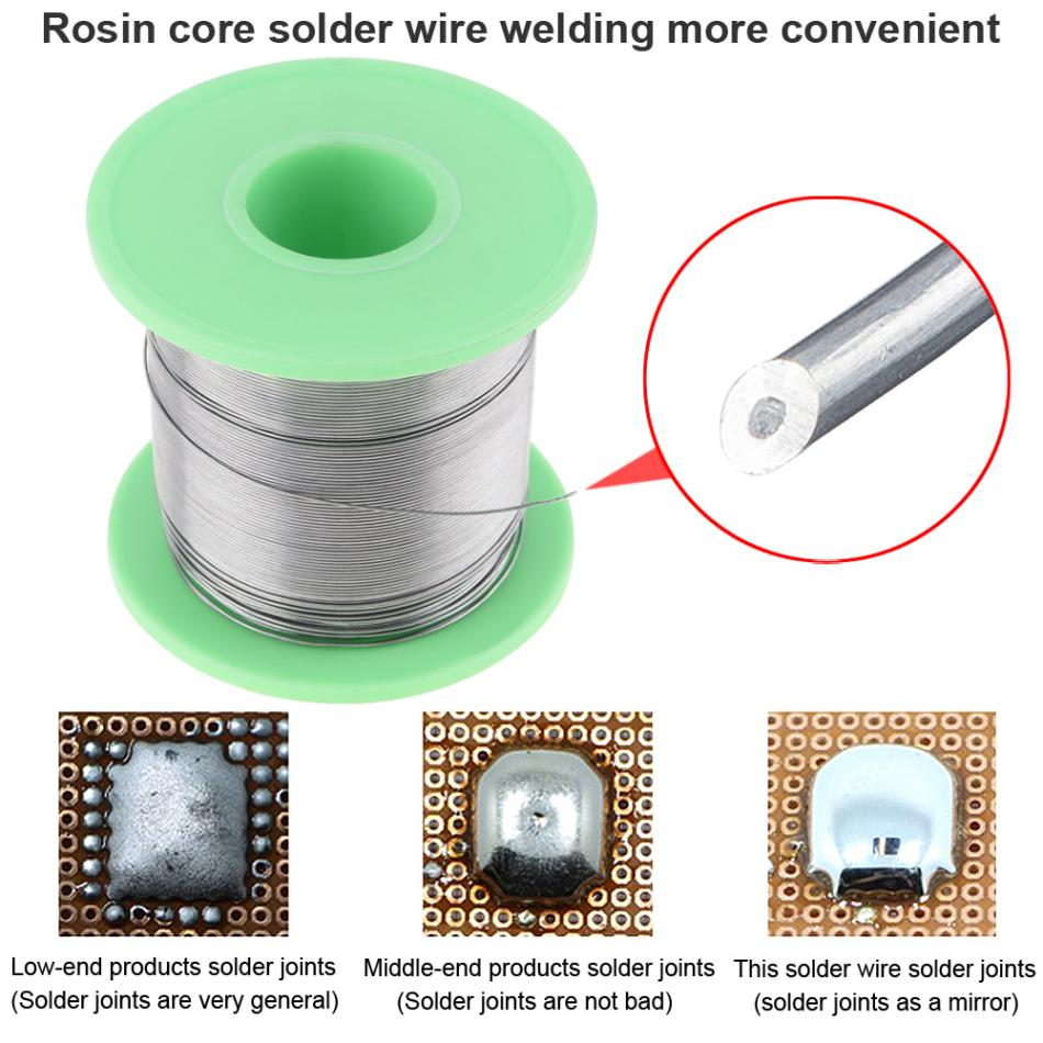 0 3 0 4 0 5 0 6 0 8 1 0 1 2 1 5 2 0mm 250g 60 40 FLUX 2 0 Tin Lead Tin Wire Melt Rosin Core Solder Soldering Wire Roll in Welding Wires from Tools