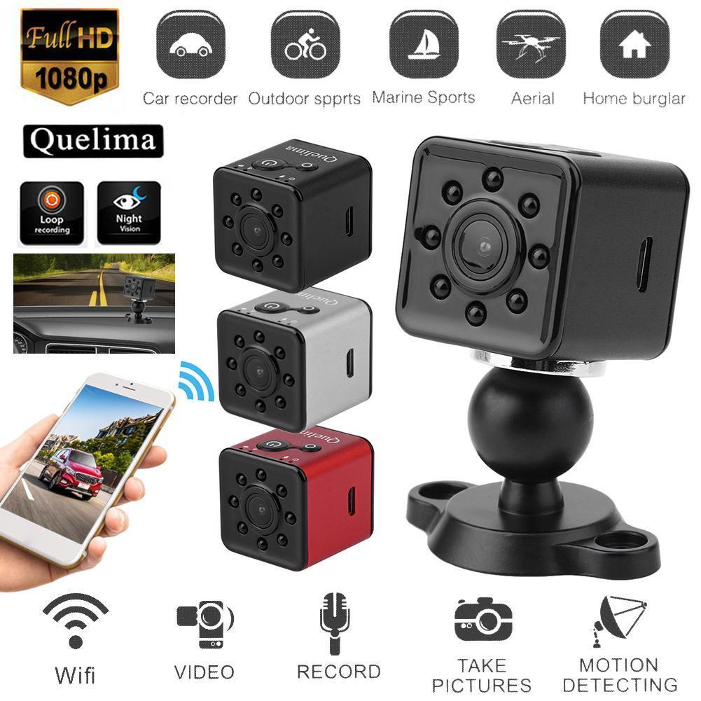 Quelima SQ13 HD 1080P Night Vision WiFi Car DVR Camera Dash Cam Mini Sports DV
