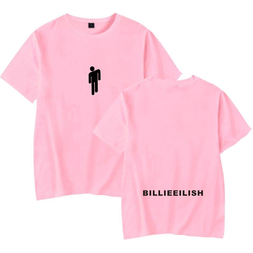 Streetwear Hip Hop Billie Eilish T Shirt Harajuku Casual O-Neck Short Sleeves Men Women T-shirt Hipster Cool Graphic Tee Shirt