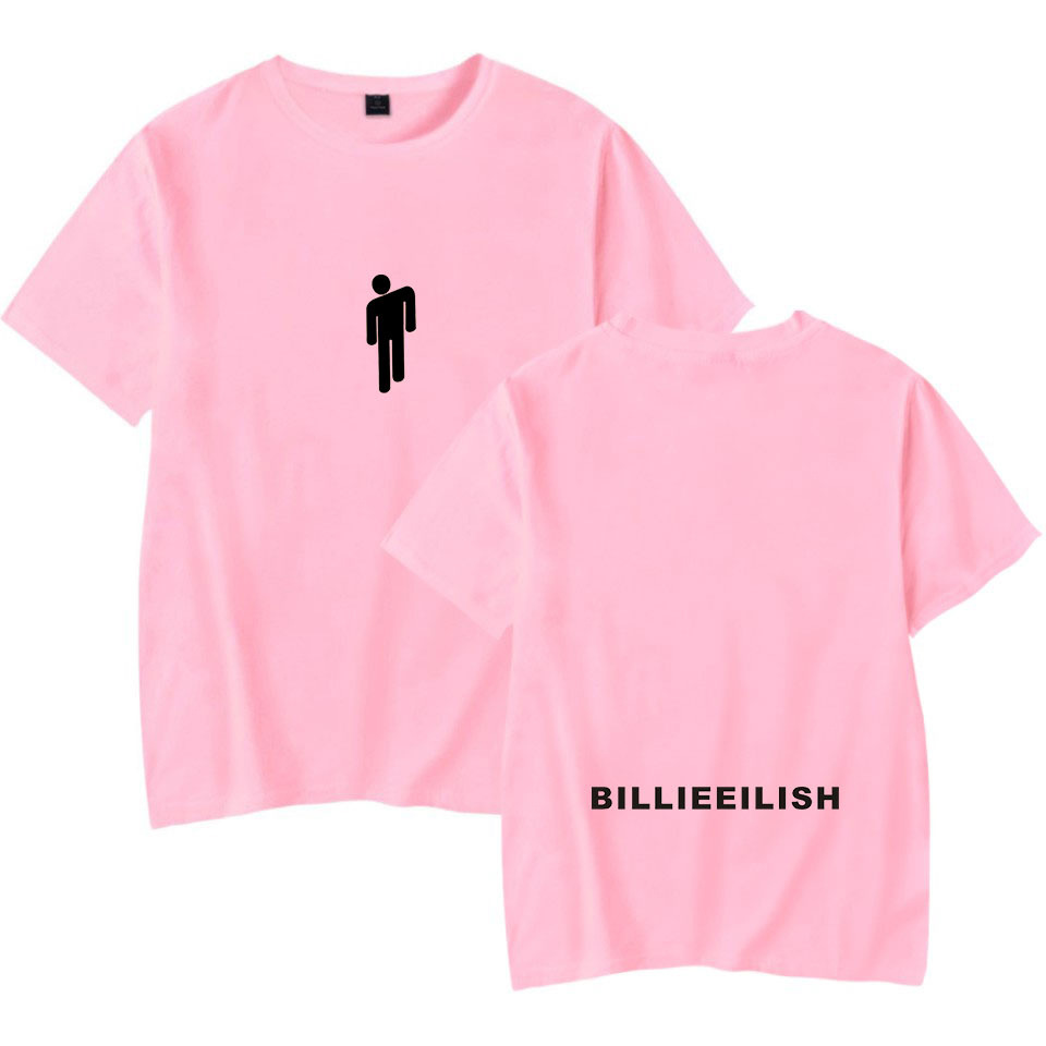 Streetwear Hip Hop Billie Eilish   T     Shirt   Harajuku Casual O-Neck Short Sleeves Men Women   T  -  shirt   Hipster Cool Graphic Tee   Shirt