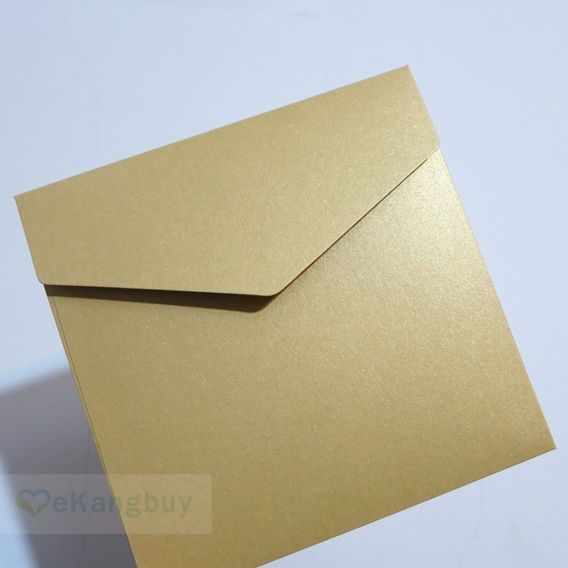Image 5 - 25pcs 158x158mm(6.1x6.1inch) 250g Pearl Color Envelope Wedding Invitation Envelope-in Paper Envelopes from Office & School Supplies