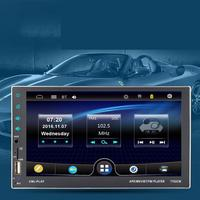 7 HD Touch Screen 2 din Car Radio DVD Bluetooth Car mp5 Player Auto Radio Digital TF USB FM Multimedia Player Rear View Camera