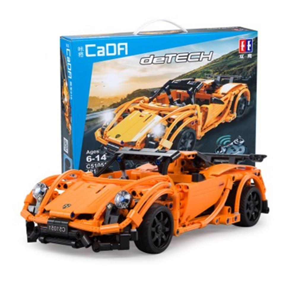 DIY Remote Control Building Blocks Puzzle Assembling Electric Sports Car ToyDIY Remote Control Building Blocks Puzzle Assembling Electric Sports Car Toy