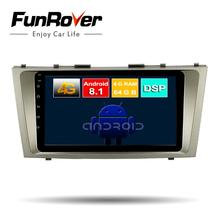 Funrover 2 din 9 Octa Core android 8 1 font b car b font dvd player