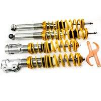 For VW Golf Mk2 Mk3 Coilovers Suspension Spring Lowering Kit for Hatchback All models Shock absorber Spring
